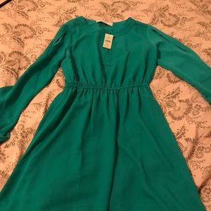 Loft dress with sleeves
